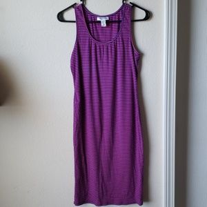 d82744eaa8277 Motherhood Maternity Dresses | Sleeveless Rib Knit Maternity Dress ...